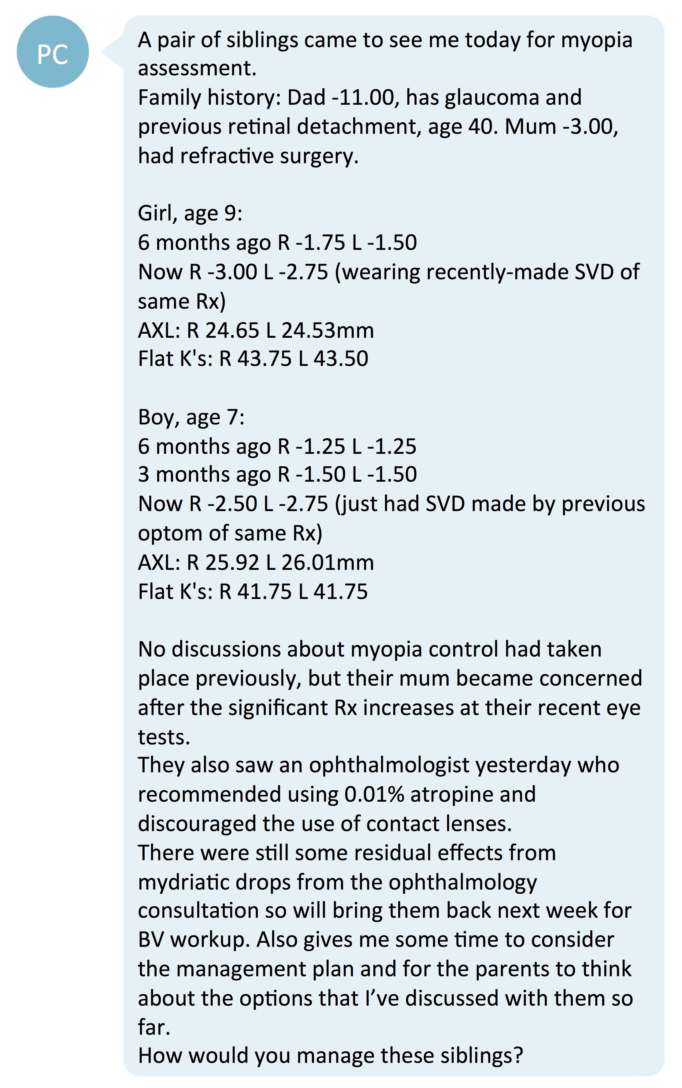 1st first myopia treatment