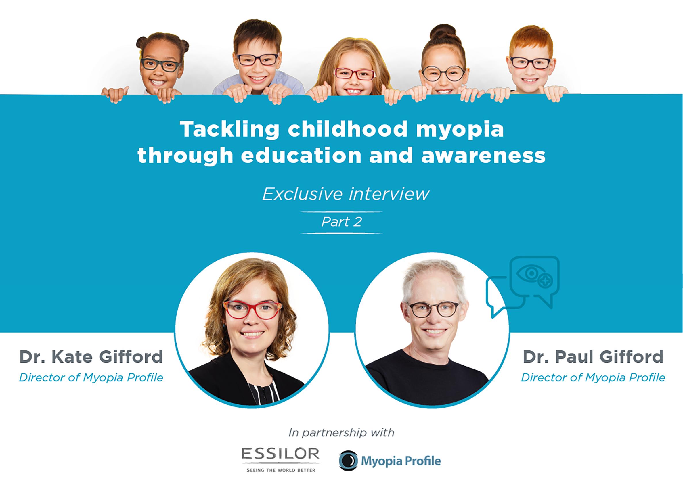 Tackling childhood myopia through education and awareness