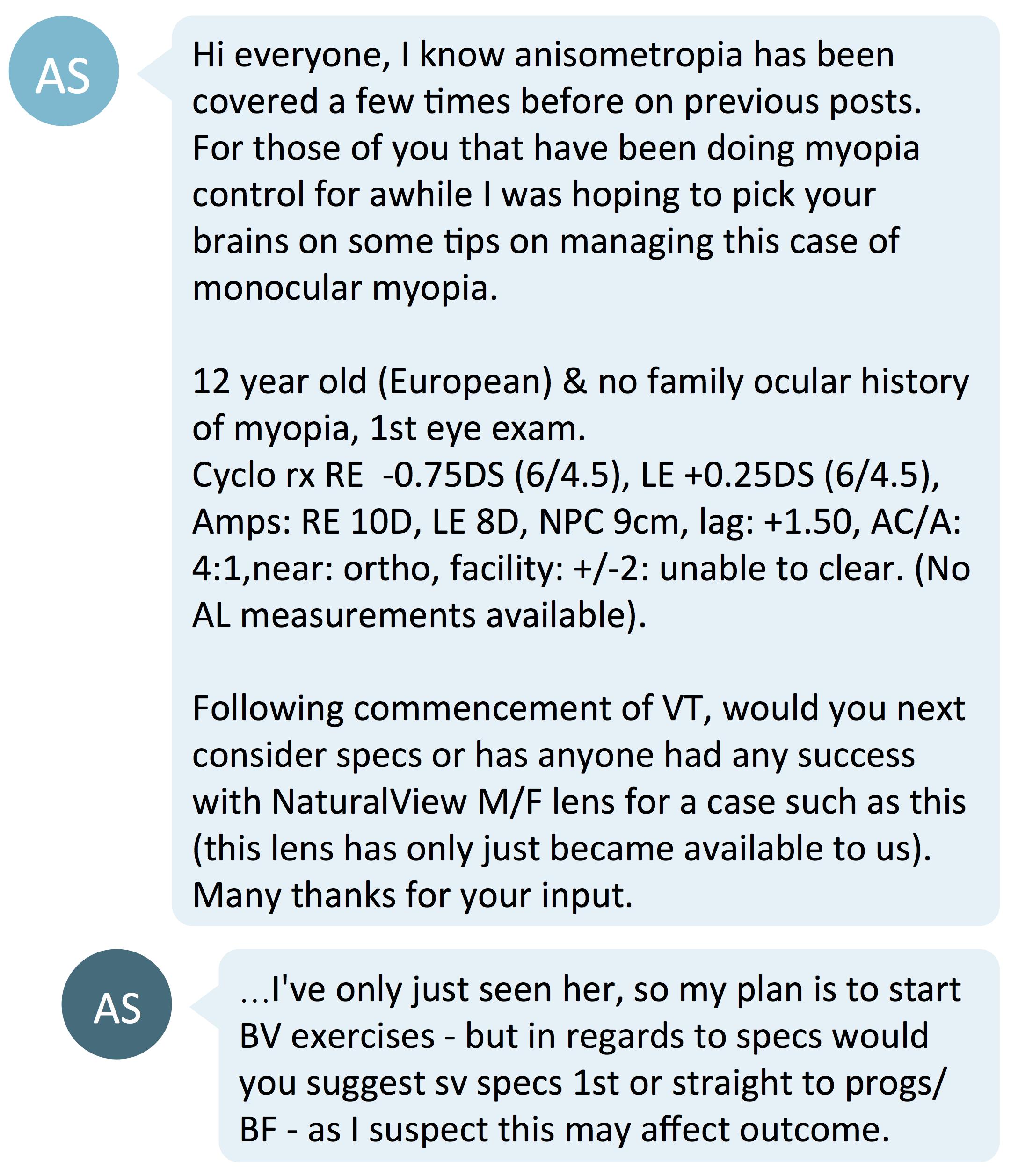 new 1st monocular myopia